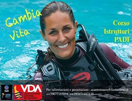 Instructor course at the Ventotene Diving Academy
